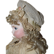 Sweet Early Antique Doll Hat / Cap