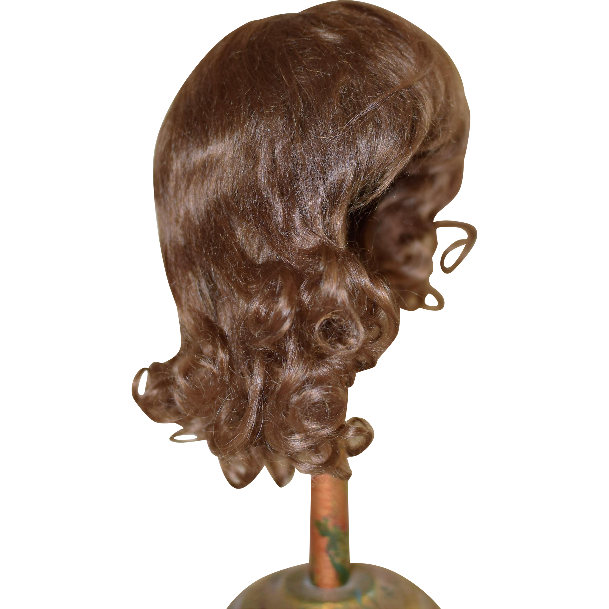 Wigs And Antique Doll 29