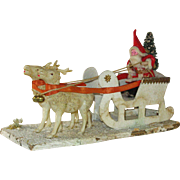 Old World Santa and Reindeers
