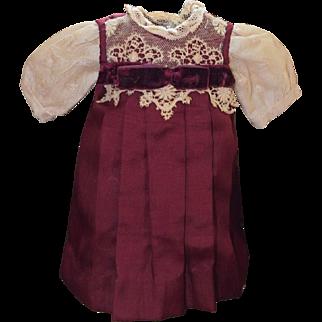 Petite Silk Doll Dress