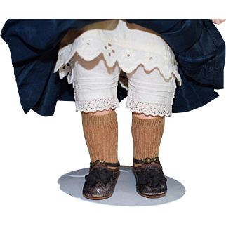 Wonderful Ribbed Doll Socks