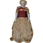 "4"" Dollhouse Doll"