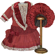 Wonderful Red Doll Outfit