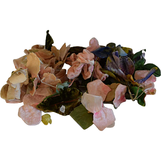 Collection of Beautiful Velvet Millinery Flowers
