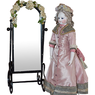 Dressing Mirror for a French Fashion Poupee