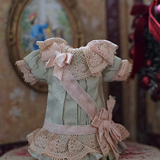 Petite Dress for an Antique Doll
