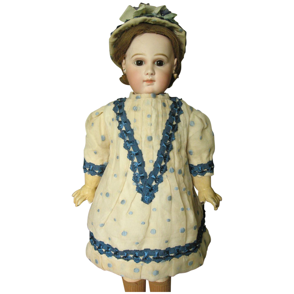 13 inch Doll Dress with Hat