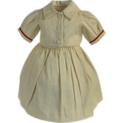 Two Piece Cotton Doll Dress