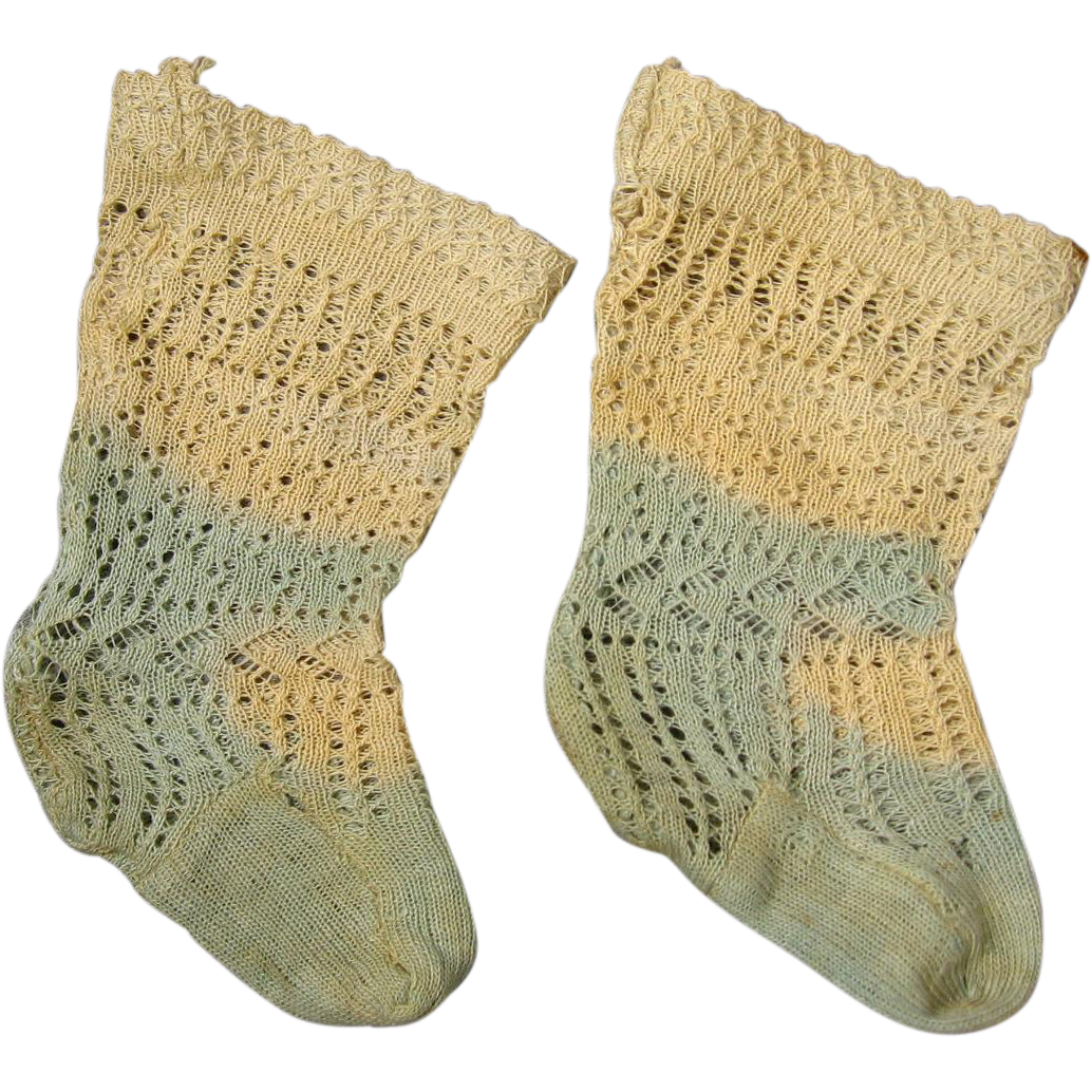 Early French Doll Socks