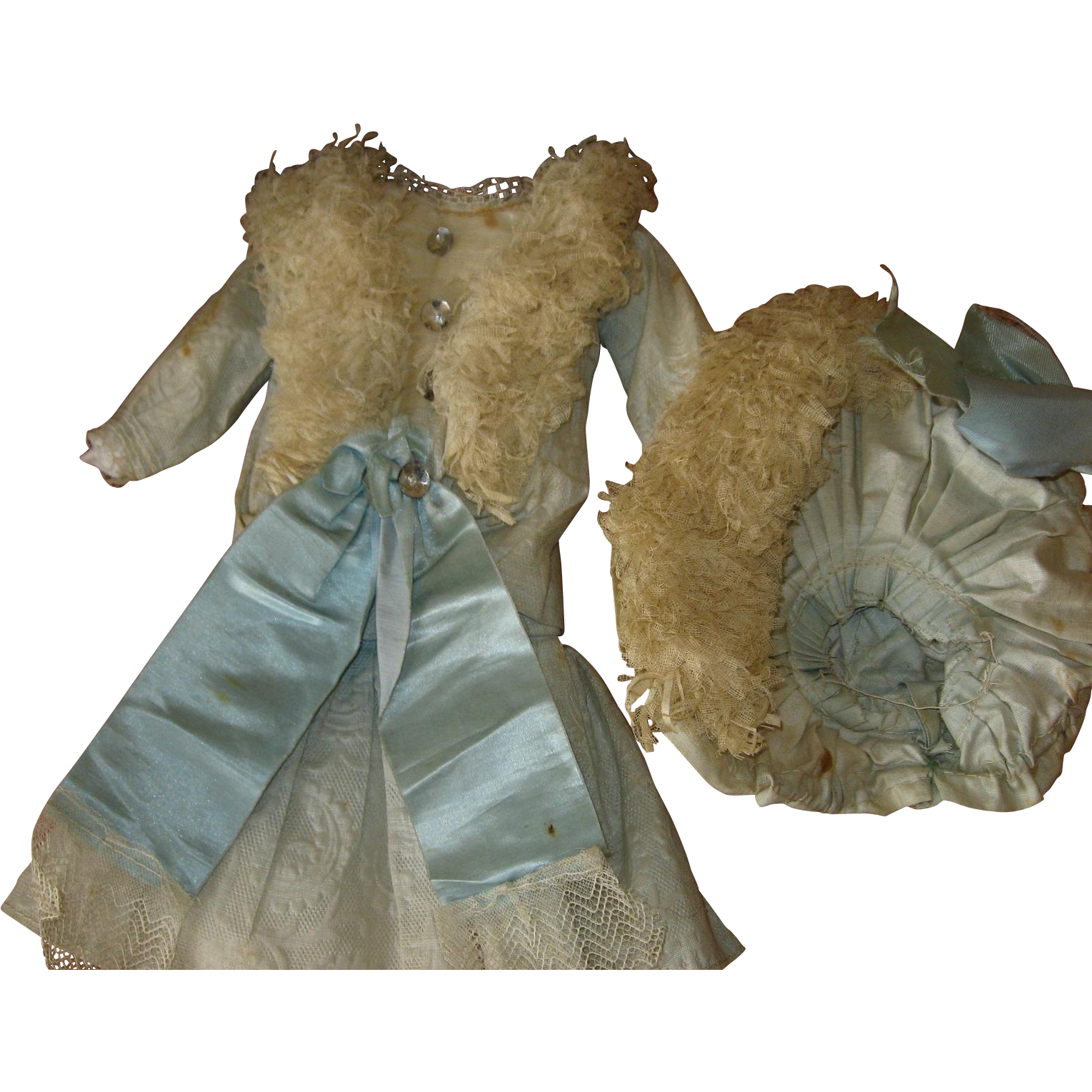 Early Factory Doll Dress
