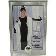 Mattel's  1998 Classic Edition Audrey Hepburn as Holly Golightly in Breakfast At Tiffany's  Doll