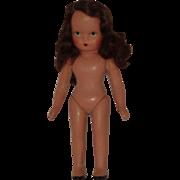 """Vintage Unused 5 1/2"""" Nancy Ann Storybook Doll"""