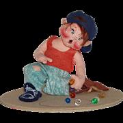 "Annalee Mobilitee ""Marbles Kid""  Circa 1994"
