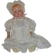 "19"" Ideal Baby Doll   Circa 1929"
