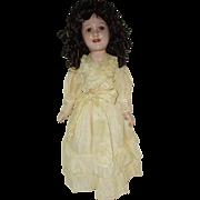 """21"""" Composition Ideal Doll 'Deanna Durbin'  Circa 1938-1941"""