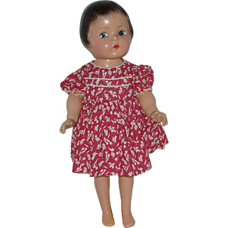 "Vintage 18"" Composition Patsy Type Doll"