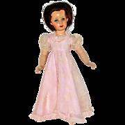 """20"""" Composition Monica Doll Studios Circa 1945"""