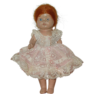 """8 1/2"""" Composition Doll  Circa 1925"""