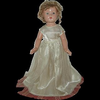 "21"" Composition Effanbee Anne Shirley Doll Circa 1936-1940"
