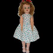 "20"" Hard Plastic And Vinyl Fashion Doll By Effanbee  Circa 1957"