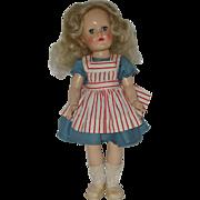 """Vintage 14"""" Ideal Toni  P-90 Doll"""