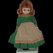 "Vintage 8"" Hard Plastic International Doll In Irish Costume"