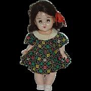 "1955 Hard Plastic  'Mary-Lu' Toddler Doll  7 12"""