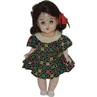 1955 Hard Plastic  'Mary-Lu' Toddler Doll  7 12""