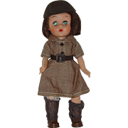 "8"" Uneeda Brownie Scout Doll  Circa 1959-1961"
