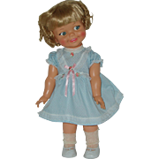 """18"""" All Original Giggles Doll By Ideal Circa 1967"""