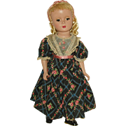 "Vintage 14"" Hard Plastic  Madame Alexander Doll  Little Women  'Amy'  1948-1956"