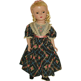 "Vintage 14"" Hard Plastic  Madame Alexander Doll  Little Women  'Amy'  1948-1956"