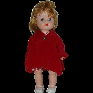"10 1/2"" Hard Plastic Head Turning Walker Doll  Circa 1955"