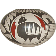 Vintage Mata Ortiz Pottery Bowl - Red Tag Sale Item