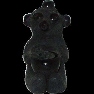 Collectible Pueblo Pottery Figurine By Dorothy Gutierrez  of Santa Clara