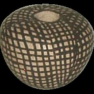 Vintage Acoma Pueblo Miniature Seed Pot