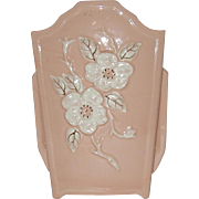 "8 1/2 "" Hull Pottery Vase R14  Rosella  1946"