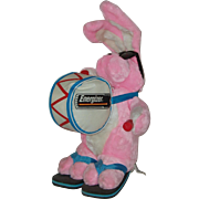 "Pink Plush 21"" Energizer Bunny Advertising Toy  1995"