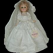 """15"""" Vinyl Bride Doll Effanbee  With Tag 1978"""