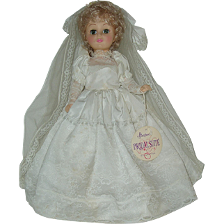"15"" Vinyl Bride Doll Effanbee  With Tag 1978"