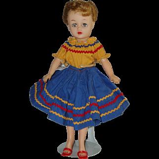 "Vintage 10 1/2"" Little Miss Revlon Doll Circa 1958"