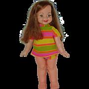 """18"""" Brazilian  Made Gui-Gui  Doll Circa 1968 - 1974 - Brazilian Giggles"""