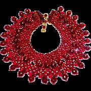 Opulent Coppola e Toppo Red Necklace BK PC