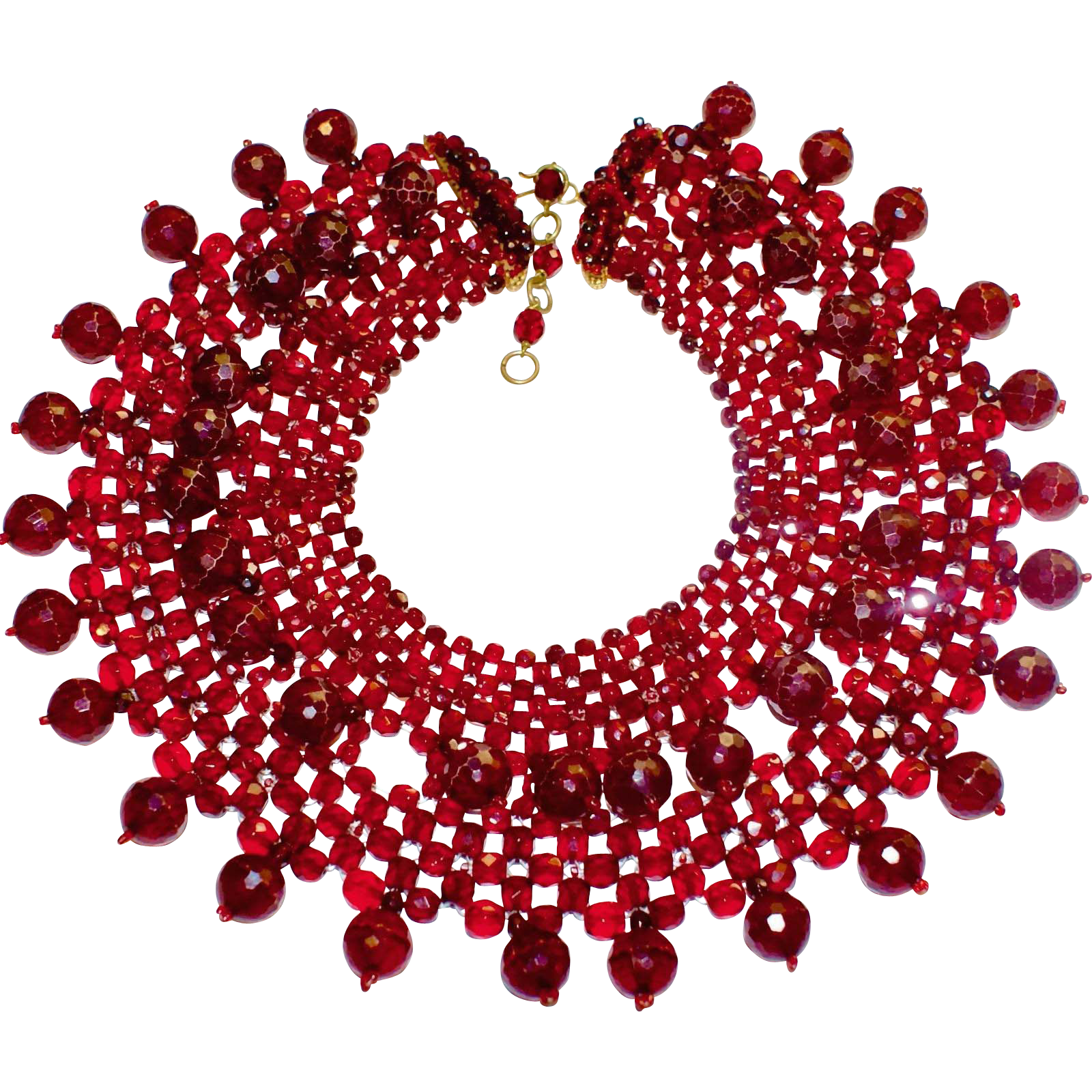 Opulent Coppola e Toppo Red Necklace BK PC