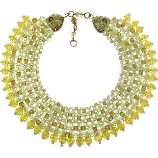 Coppola e Toppo Yellow Collar Necklace