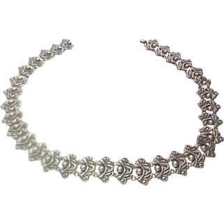 Vintage Silver Bracelet from Taxco ~ circa 1950's
