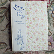 "Victorian Book ""Lischen and the Fairy ~ Christmas in Germany"""