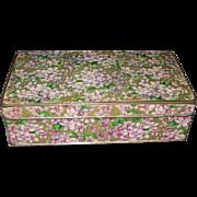 Circa 1900s Park & Tilford Violets Candy Box