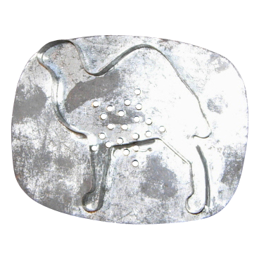 Tin Camel Flat Back Cookie Cutter