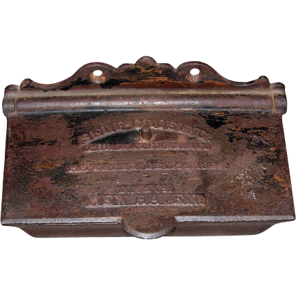 Self Closing Match Safe – 1864